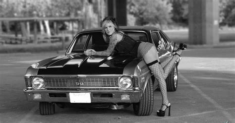 Vintage Classic Cars And Girls A Girl And Chevrolet Chevelle Ss Cars Pinterest Vintage