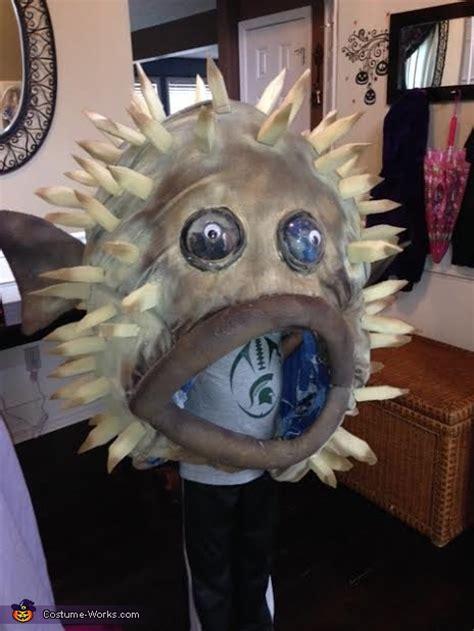 puffer fish costume photo