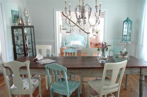 how to paint a shabby chic dining room table the right wall to paint an accent color the decorologist
