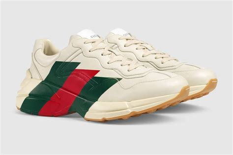 After wearing my gucci rhyton sneakers for a little over 2 weeks i decided to make an honest in this video, we take a look at the gucci rhyton wave. Gucci Is On The Chunky Sole Wave With Its Pre-Fall 2018 ...