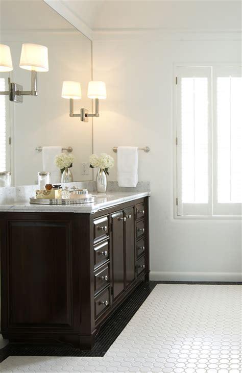 Espresso Bathroom Cabinets by Espresso Cabinets Contemporary Bathroom Elizabeth