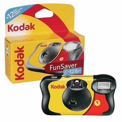 Kodak Camera Fun Funsaver Saver Disposable Flash