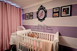 couleur chambre bebe osez le violet With deco mur chambre bebe