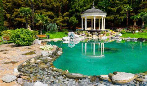 Schwimmteiche Für Kleine Gärten by Eigenen Schwimmteich Im Garten Anlegen Und Reinigen