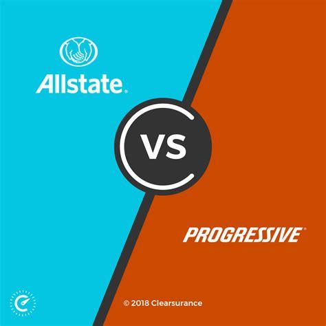 allstate  progressive consumer ratings  rates
