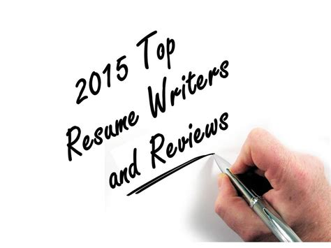 Resume Professional Writers Reviews by Best Resume Writers 2015 Professional Resume Writer