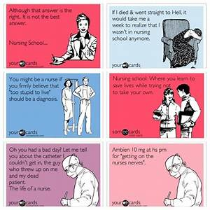For all the nursing school students or nurses out there ...