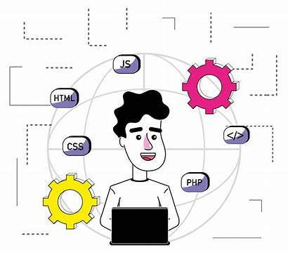 Software Programmer Cartoon Clipart Icons Graphics Stockgiupro