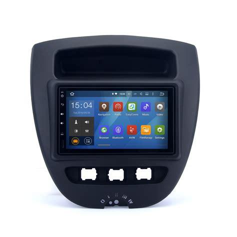 2 din radio navi 2 din car radio for toyota aygo 2005 android stereo navi