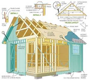 shed plans picking the best shed blueprints cool shed