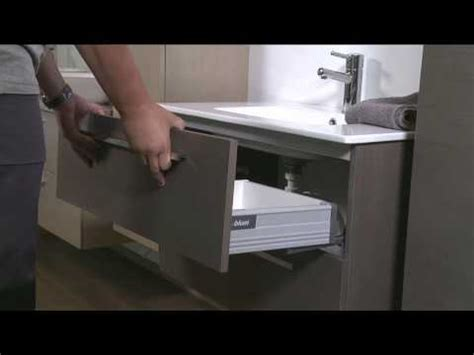 comment démonter et remonter les tiroirs le coin salle