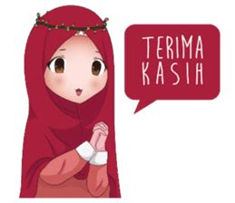 April 7, 2021 oleh vera persibtiawati. Kartun Muslimah by Ay Humaeni sticker #10307856 di 2020 ...