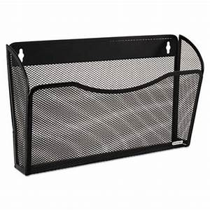rolodex single pocket wire mesh wall file letter black With mesh wall letter file