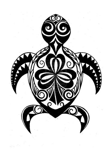 hawaiian sea turtle drawing    clipartmag