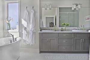 Gray Double Bathroom Vanity Design Ideas