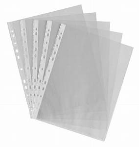a4 clear plastic punched pockets folders filing divider With clear plastic sleeves for documents