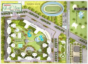 Overview - Antariksh Golf View Apartments at Sector-78