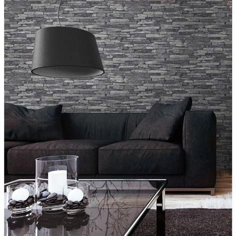 wohnzimmer tapete grau tapete steinoptik grau wohnzimmer tapeten design best of