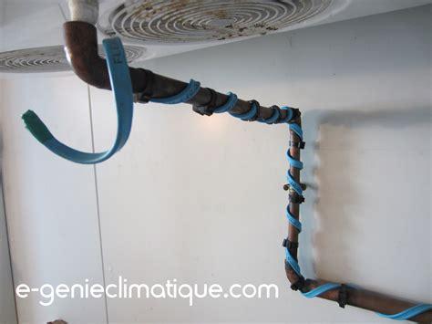 schema chambre froide negative chambre froide négative les cordons chauffants avec