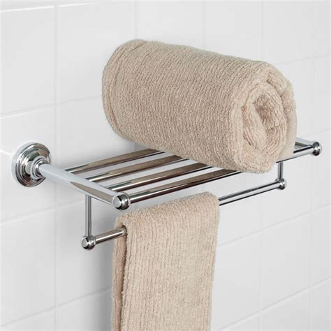 towel rack shelf holliston towel rack bathroom