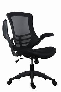 Tc, Group, Marlos, Mesh, Back, Office, Chair, With, Folding, Arms, -, Black