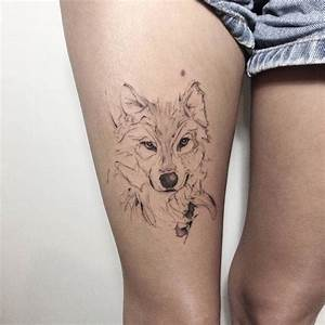 Idée De Tatouage Femme : 1001 mod les de tatouage loup pour femmes et hommes ~ Melissatoandfro.com Idées de Décoration