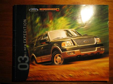 purchase  ford expedition brochure motorcycle