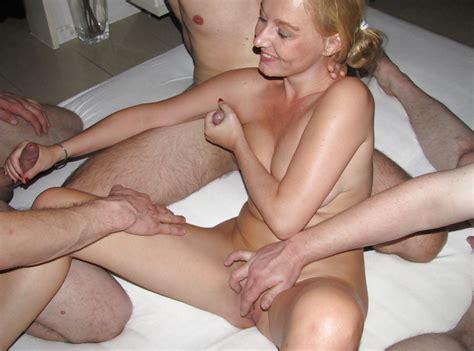 Dutch Slut Hot And Horny Gangbang 47 Pics