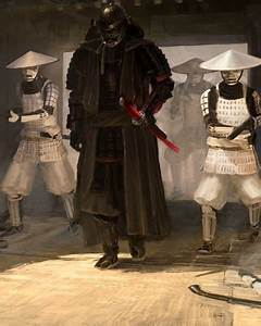 STAR WARS Samurai Art QuotLord Vader And His Troops