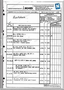 New Holland Engine Deutz F2l511 Part Catalogue