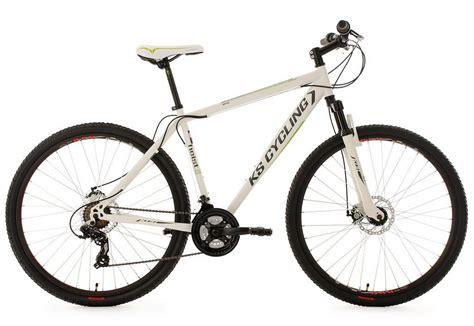 mountainbike herren 29 zoll ks cycling hardtail mountainbike 29 zoll wei 223 21 kettenschaltung 187 heist 171 kaufen