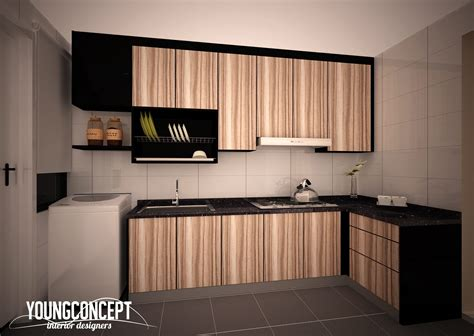 Ideas For Space Above Kitchen Cabinets - 50 malaysian kitchen designs and ideas recommend living