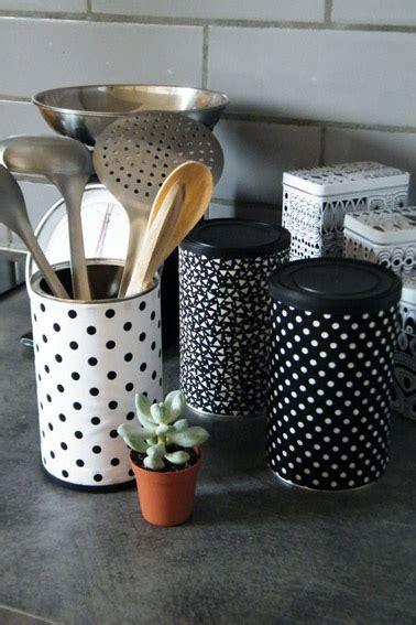 pot rangement cuisine faire pot de rangement de cuisine avec une boite de conserve
