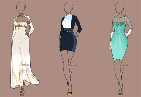 Fashion Adoptables Auction 3  Closed By Karijnsbasement