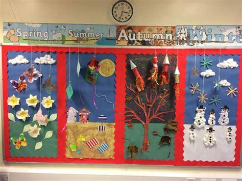 seasons classroom display classroom displays