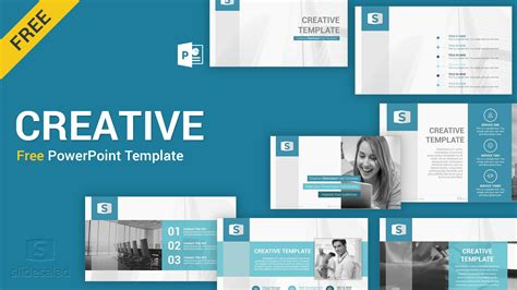 Creative Templates by Creative Free Powerpoint Template Slidesalad
