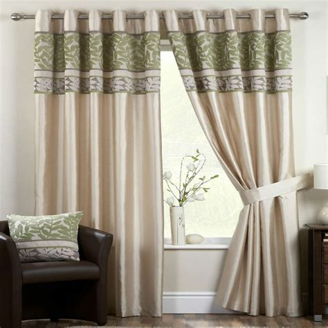 Readymade Eyelet Curtains by Details About Pale Green Sage Mint Velvet Ivory Cream