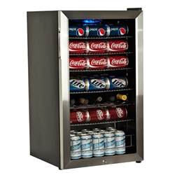 Newair AB-850-BL 84-Can Scratch & Dent Stainless Steel Beverage Cooler