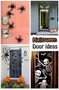 2018, Fun, U0026, Spooky, Halloween, Door, Decorating, Ideas