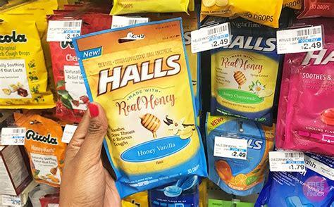 halls cough drops    cvs regularly
