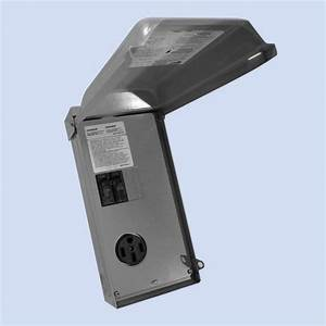 Rv Power Outlet - 50 Amp