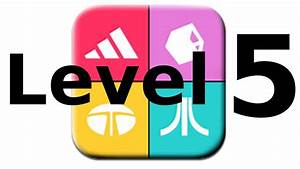 Logos Quiz Game - Level 5 - Walkthrough - All Answers