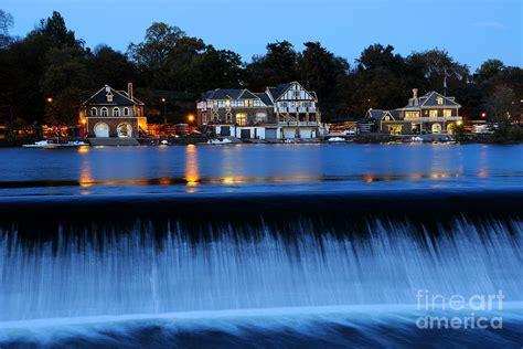 Philadelphia Boathouse Row At Twilight Photograph By Gary