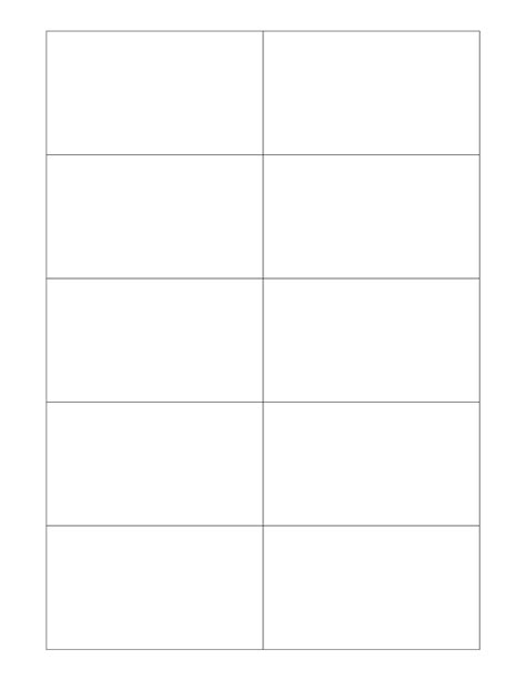 Free Postcard Templates Peerpex Blank Postcard Template For Word Images