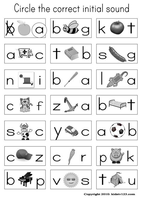 alphabet phonics worksheets preschool curriculum 2013