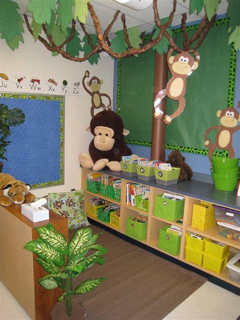 Jungle Theme Classroom On Pinterest  Jungle Bulletin