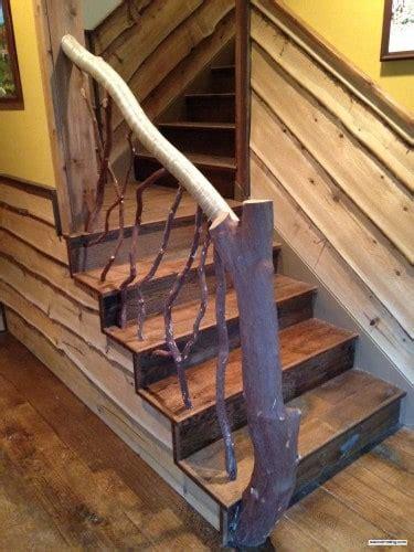 vermont timber frame deck railing