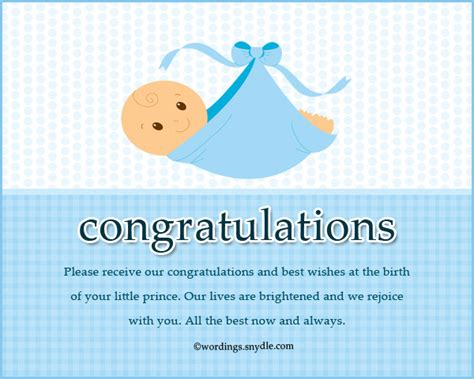 congratulation messages   born baby boy wordings