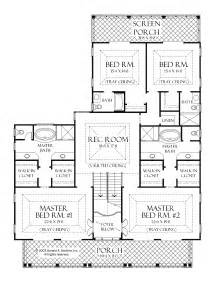 house plans with two master suites one level house plans with two master suites arts bedroom and bedrooms interalle
