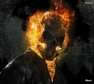 Ghost Rider Fire Face HD Wallpaper For Mobile